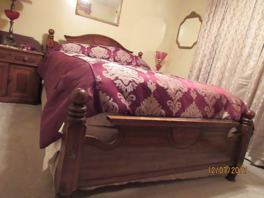 Bedroom 1, queen size foam mattress