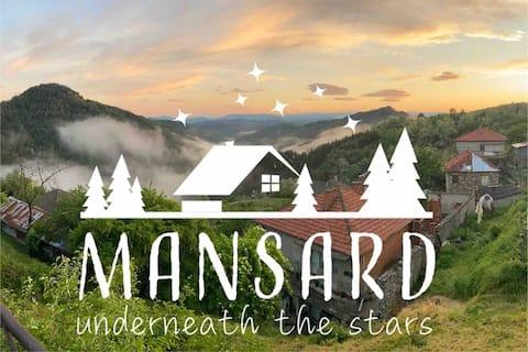 Mansard underneath the stars