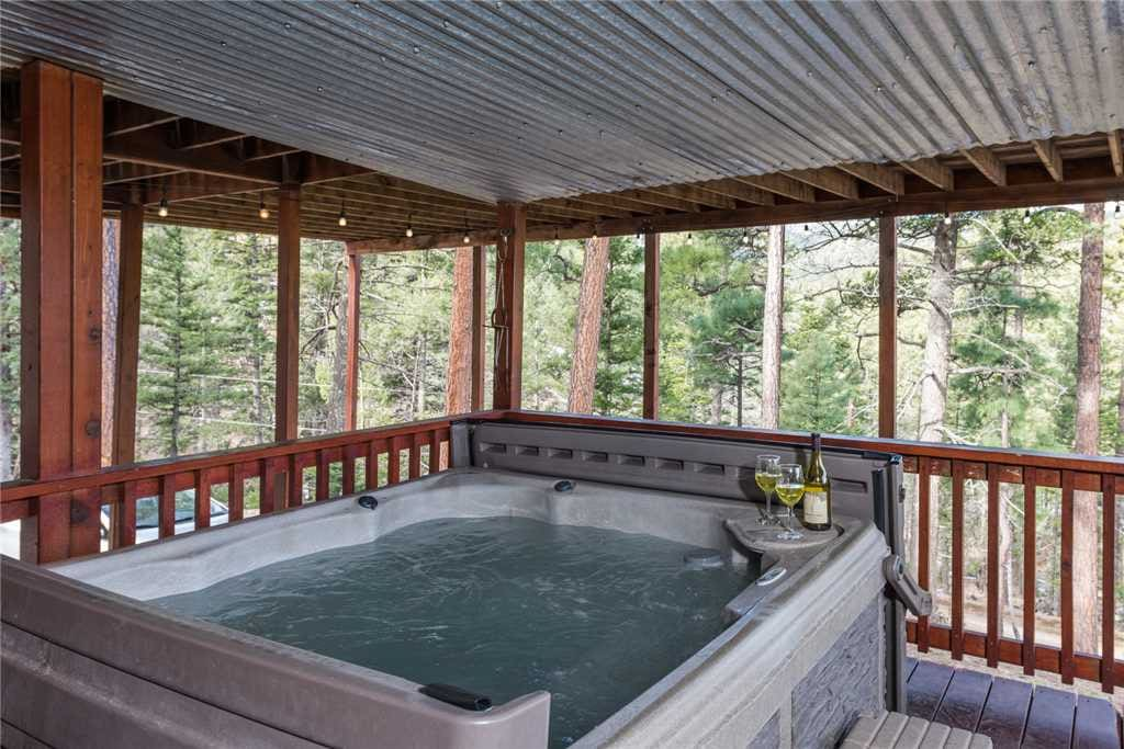 Ahh, Spa! - Come on in! The water is perfect in the hot tub.