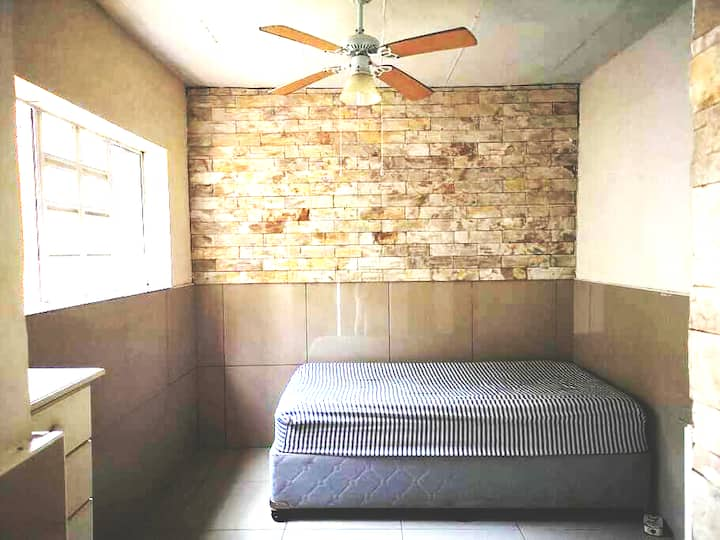 Stunning bedroom & ensuite with private entrance.