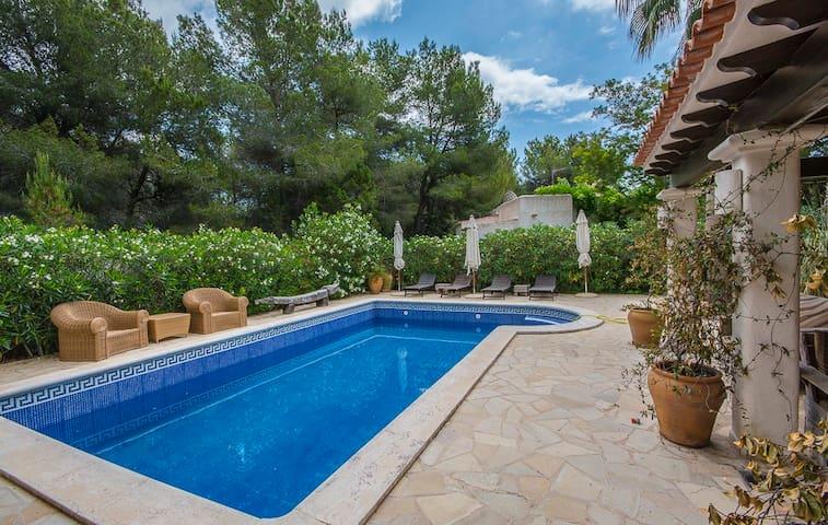 Cozy Villa near Cala Lenya Ibiza - Santa Eulària des Riu - Rumah