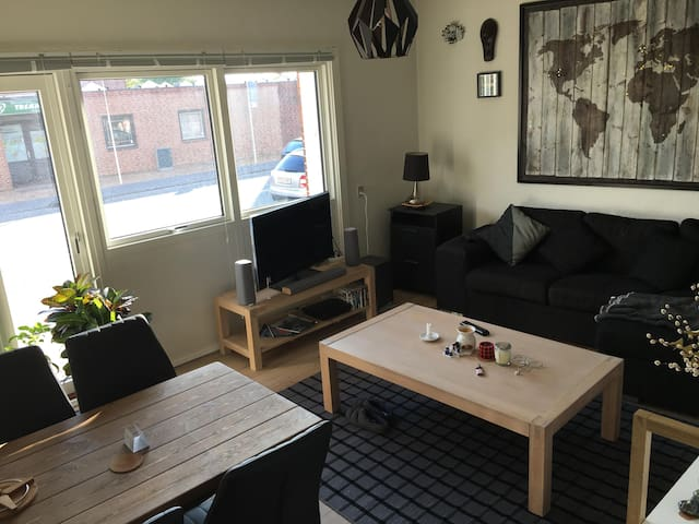 Cosy apartment, close to city centre with parking