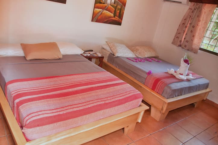 Pension Playa Samara Large Quad Room