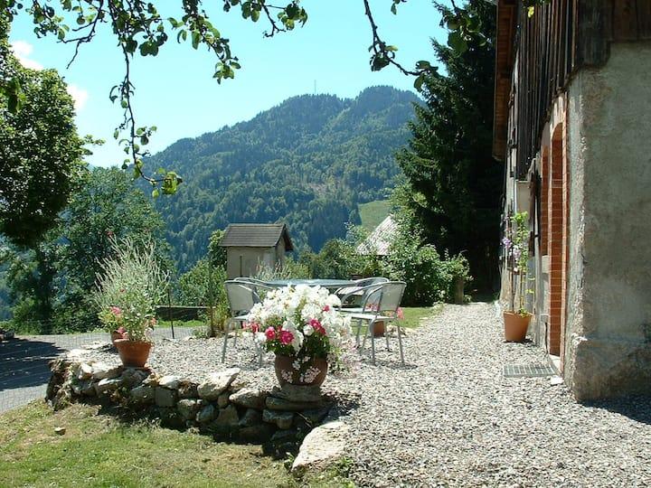 Joli gîte à la montagne en Haute-Savoie