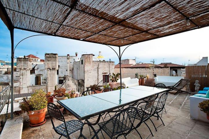 Una casa famigliare tranquilla nel centro storico - Gallipoli - Apartament