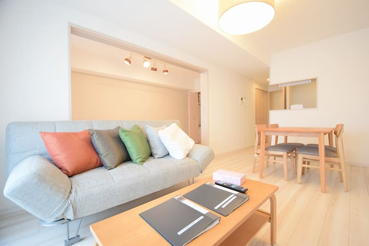 4min to 2 train Sta.! 1 bedroom APT/Mt Fuji View
