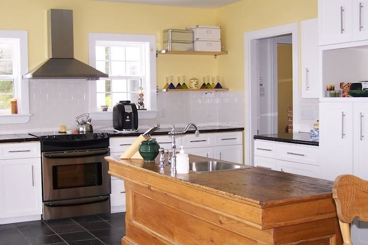 Fully equipped kitchen at Beechmont House