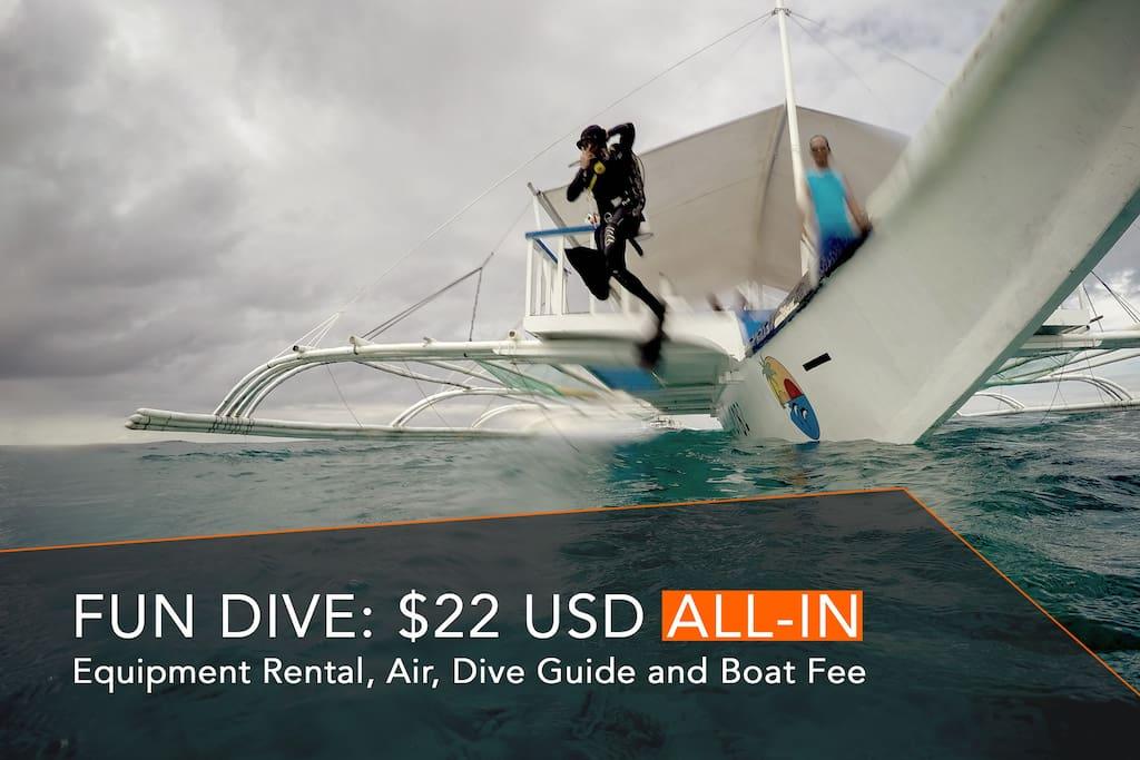Affordable Scuba Diving