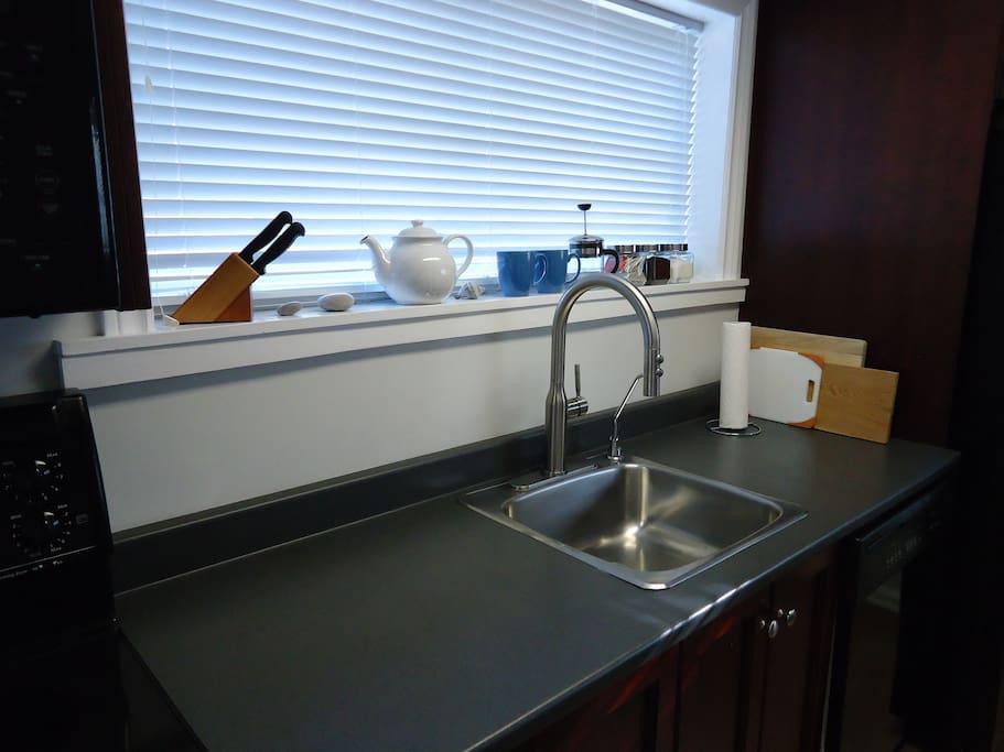 Basic Kitchen Items Provided