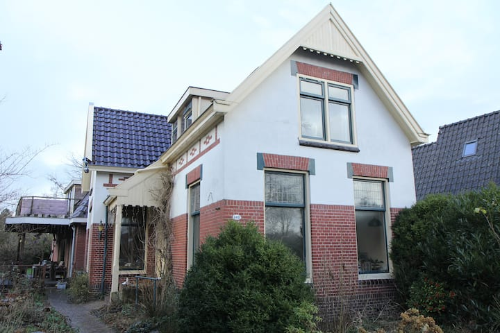 Front house in Paterswolde, near Groningen city.