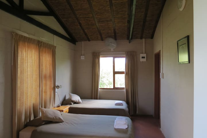 Interior to the new chalets