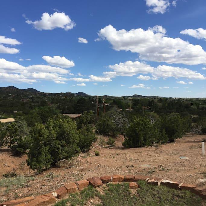 Big New Mexico skies.