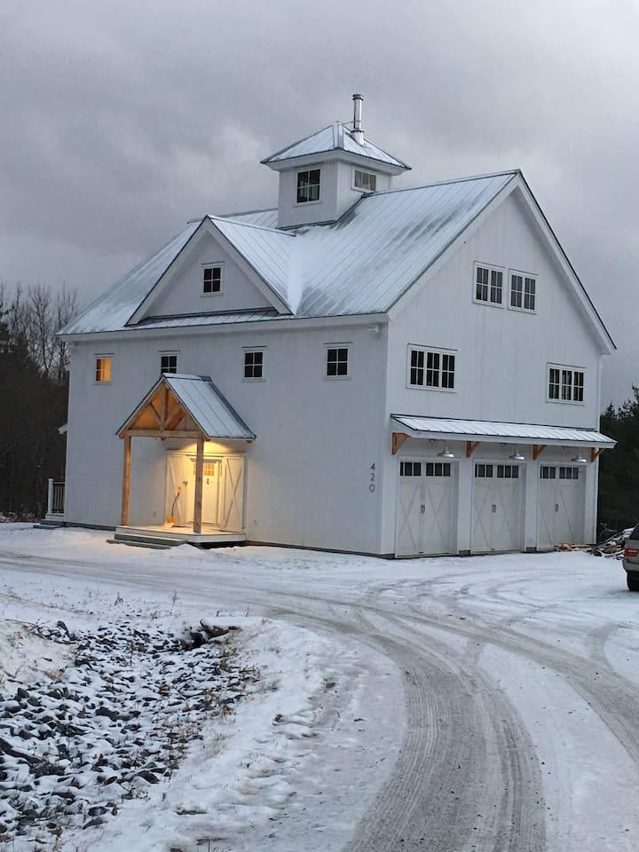 Our Brand New White Barn - Custom Design