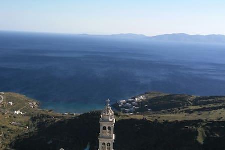 """Luna del mare"" STUDIO in Kardiani - Καρδιανή - Casa"