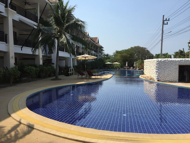 Luxury Resort on the beach near Pattaya Thailand