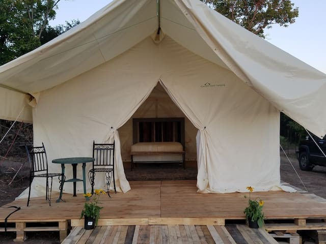 Sunset Glamping-enjoy camping without the work!