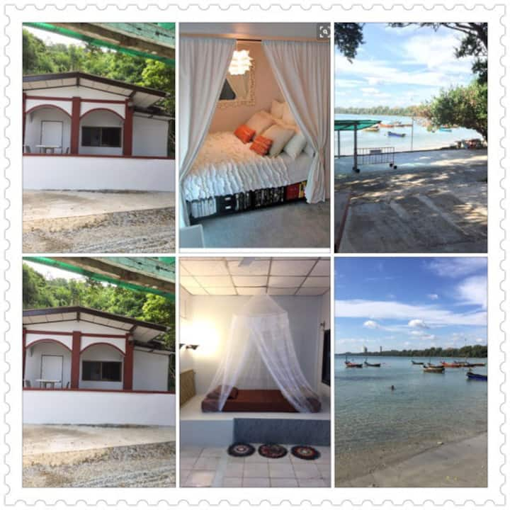 Welcome to Thailand. Privacy beach.