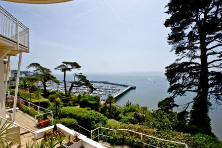 Panoramic Sea Views, beautiful Family location - Torquay - Byt se službami (podobně jako v hotelu)