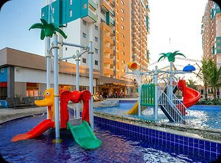 Resort: Enjoey Olimpia Park. Próximo ao Thermas.
