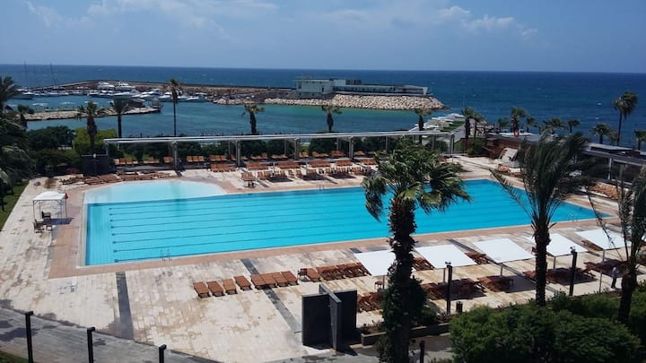 2Bedroom Duplex near Tripoli with Exceptional View