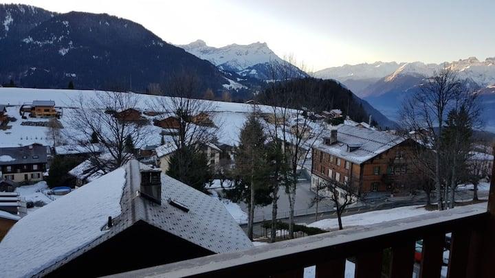 Appartement Leysin, Swiss Alps