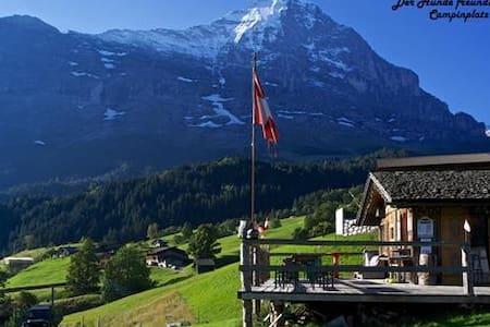 Nice carvan to rent on our Campsite - Grindelwald - Camper/RV