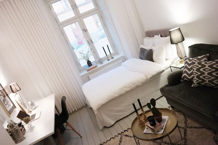 Stylish and central studio in Sthlm