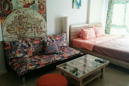 Cozy&Quiet Apt with Shared Pool   - Tambon Nong Kae - 公寓