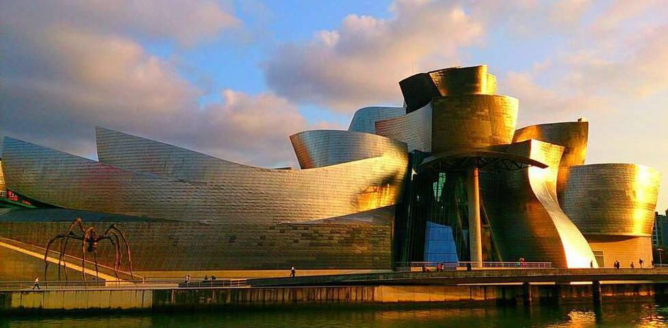 A 15 km del Guggenheim y centro de Bilbao