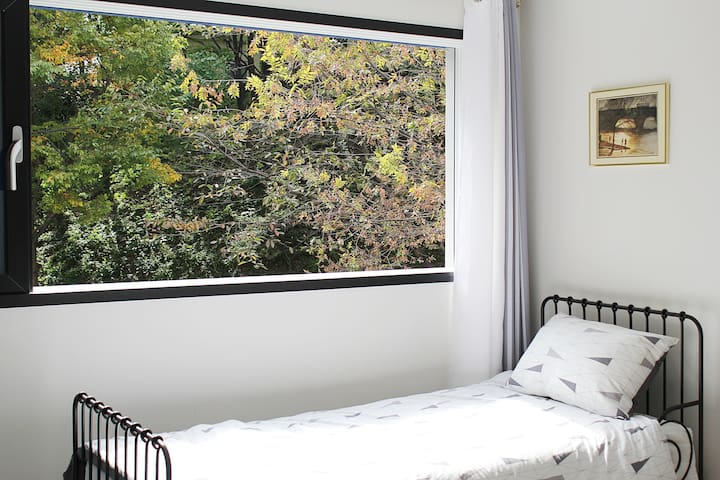 3 beds, 5min Bus terminal with delicious breakfast - Geumjeong-gu - Pension