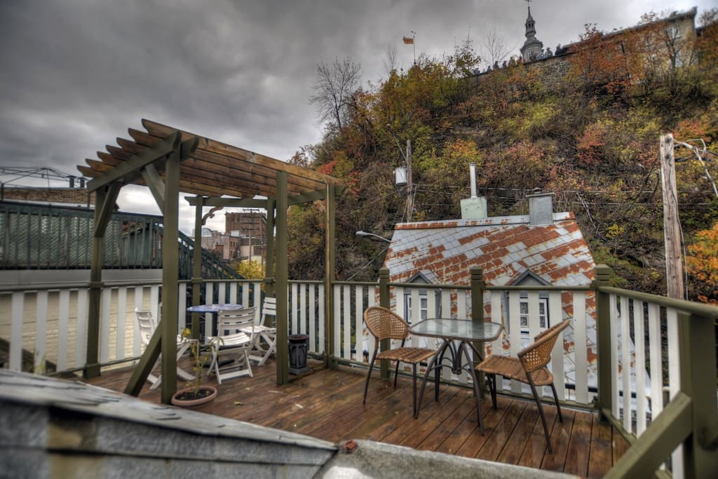 Loft in vieux port appartements louer ville de for Equipement de cuisine quebec