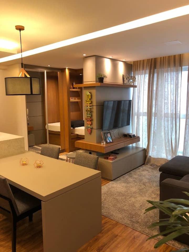 Apartamento Incrível com decoração apaixonante!!!