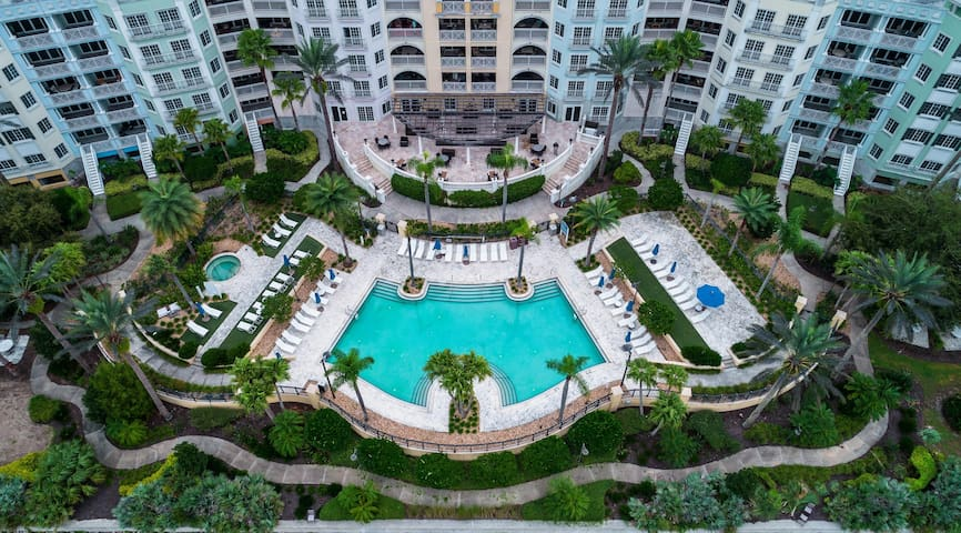 Hammock Beach Golf Resort and Spa - 2 BR 467 Intracoastal View Condo in the Yacht Harbor