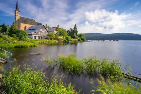 Marvelous lake view apartment 3 - Jezerka Lipno
