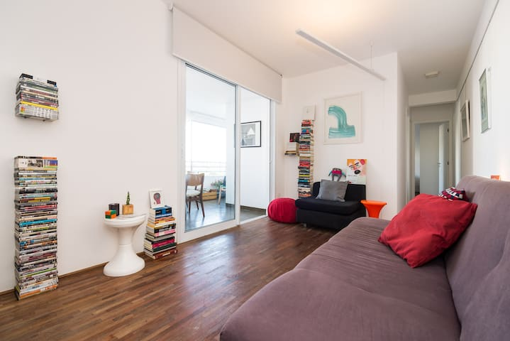 Brand new room in Pinheiros with air conditioner - Són Paulo - Pis
