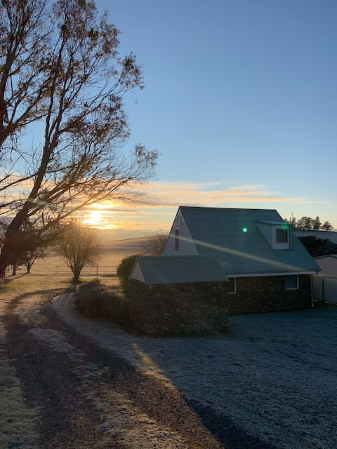 The Adaminaby stone cottage