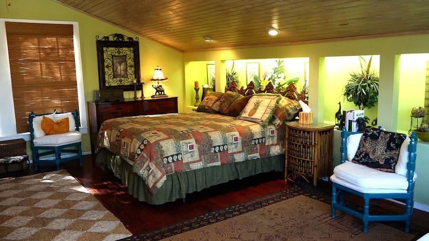 Elephant Room, tropical splendour! - San Antonio - Wohnung