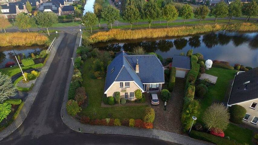 The wiekeborg from the sky, maded by a drone.