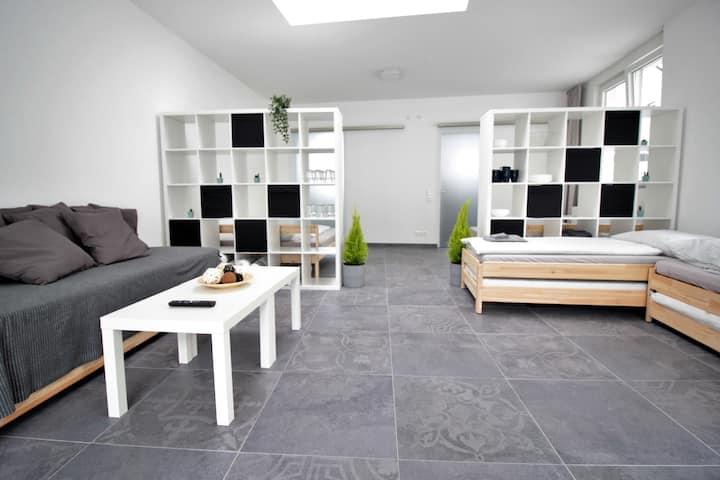 Fantastic bungalow loft in the heart of Würzburg