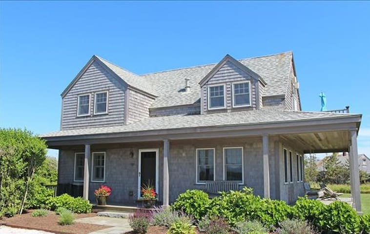 Beautiful New Gem with Water Views in Madaket!