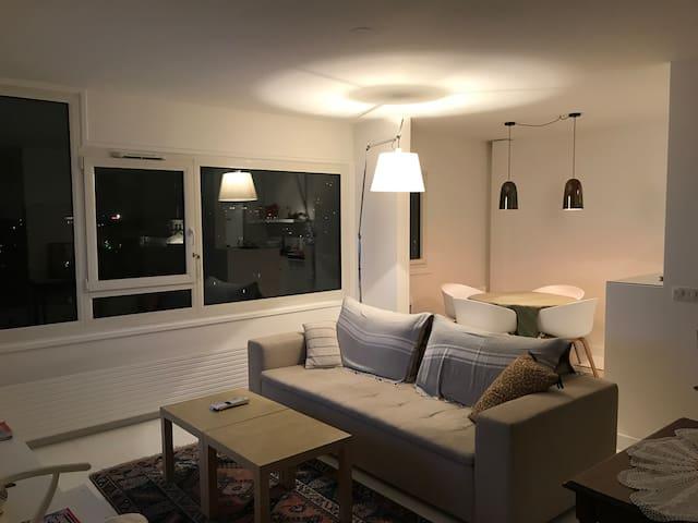 Grand appartement de standing avec vue