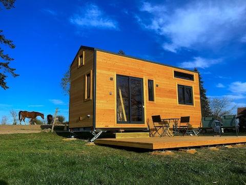 Tiny House Cabriole, Centre équestre de la Vallée.