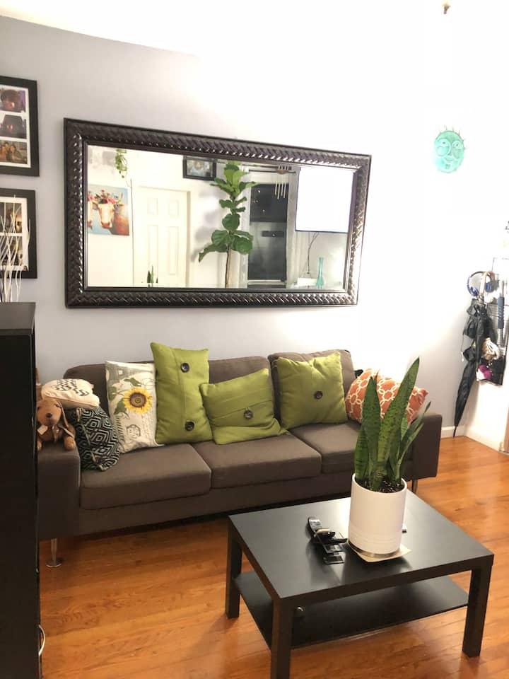 The Luna's apartment