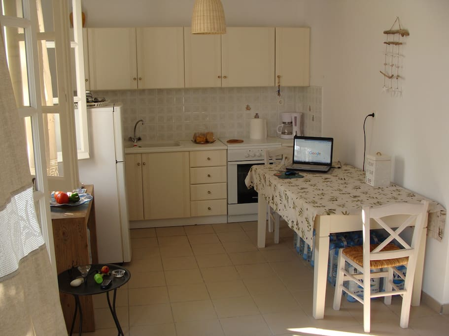 the kitchen (4 seats available )