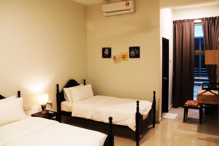 The Bliss Malacca Twin Bedroom - Melaka Tengah - Talo
