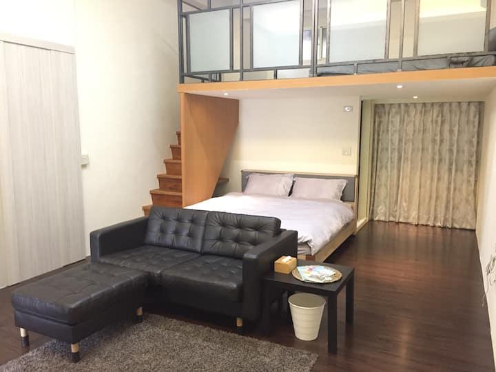 雙床樓中樓 寬敞空間
