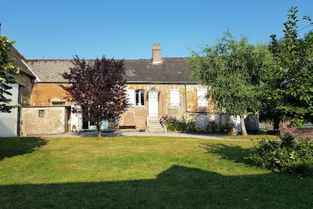 Entire house (former farm) in Thierache (Picardie)