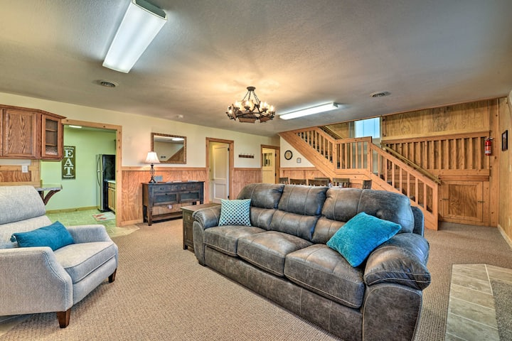 NEW! Event-Friendly Home w/ Indoor Pool on 3 Acres