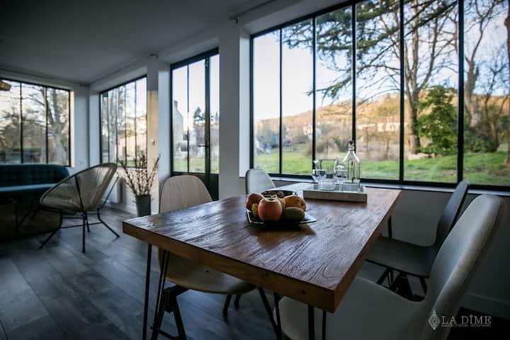 La Dime de Giverny  Gîte «La Maison»