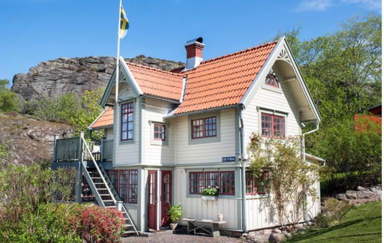 Cozy house on the Swedish west coast